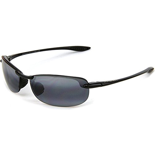 Makaha Black Frame Grey Lens - Makaha Sunglasses