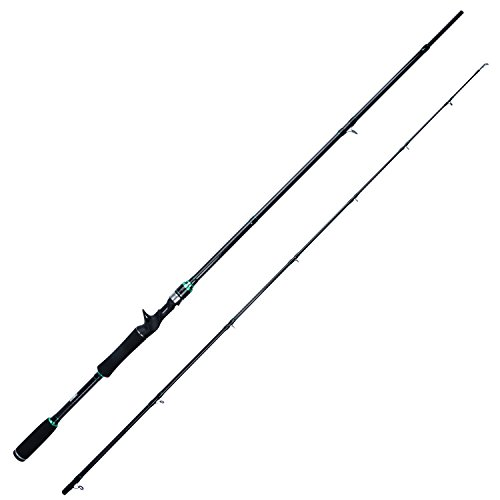 "Berrypro Saltwater Baitcasting Rod Casting Rod Inshore Graphite Fishing Rod 7'0"" (8-18LB 10-30G) (7′) For Sale"