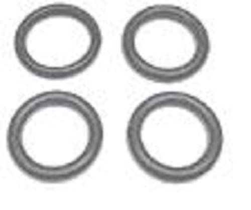 Four//Black Crathco Valve O-Ring For The Bubbler Beverage Dispensers