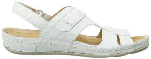 Dr. Brinkmann 710633 - Sandalias con correa de tobillo Mujer Blanco (Weiß (Weiß 3))