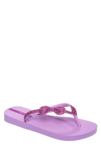 Ipanema Glitter Flip Flop ,Lilac,2/3 M US Little Kid