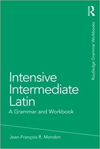 Intensive intermediate latin a grammar and workbook grammar intensive intermediate latin a grammar and workbook grammar workbooks english and latin edition 1st edition fandeluxe Choice Image