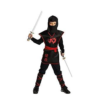 Rubies Ninja Krieger Jungen Kinder Kostum Fasching Karneval