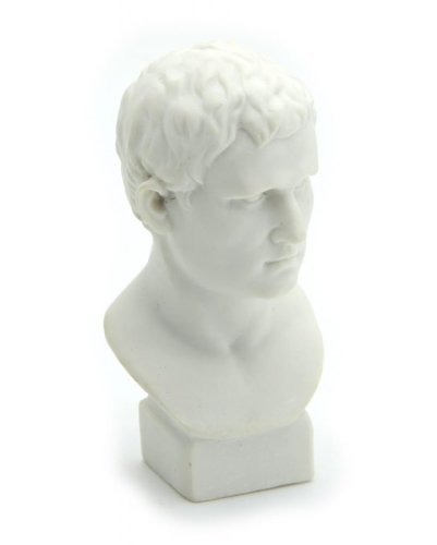 - Owfeel Plaster Bust Statue Resin Casting Painting White Height 2.76inch/7cm