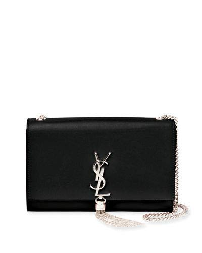 957fb469f4 Saint Laurent Kate Monogram YSL Medium Chain Tassel Shoulder Bag Saint  Laurent Kate Monogram YSL Medium