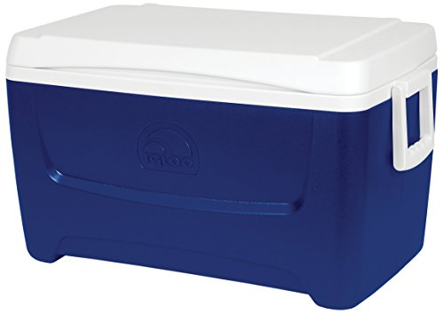 Igloo Island Breeze 48 Quart Cooler- Majestic Blue
