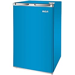RCA RFR321-FR320/8 IGLOO Mini Refrigerator, 3.2 Cu Ft Fridge, Blue