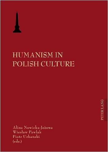 Book Humanism in Polish Culture (Europaische Hochschulschriften Reihe I, Deutsche Sprache Und Literatur)