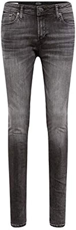 Jack & Jones dżinsy męskie (Jjitom Jjoriginal Am 817 Noos), kolor: czarny denim , rozmiar: 27: Odzież