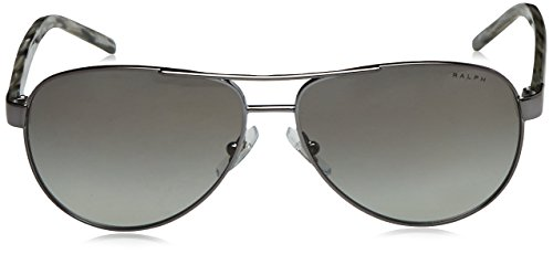 Ralph Sonnenbrille (RA4004) Gris (Gunmetal Grey Horn 103/11)