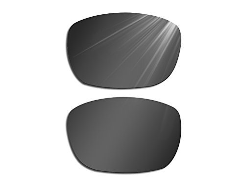 Glintbay Harden Coated Replacement Lenses for Electric Knoxville XL - Polarized Advanced - Xl Electric Knoxville Sunglasses
