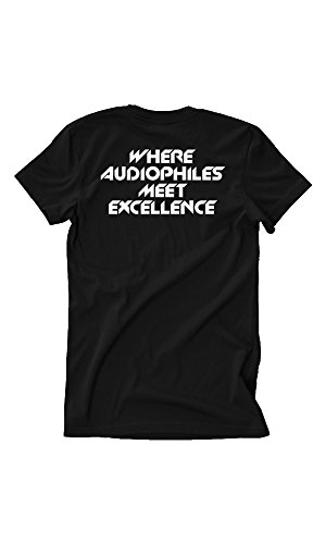 Skar Audio Audiophiles Graphic T-Shirt - Black - Small