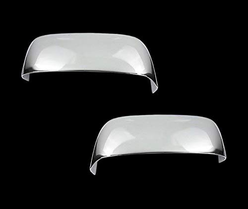 ShopDone Fits 2002-2008 Dodge Ram Chrome Top Half Mirror Cover for Towing Mirror