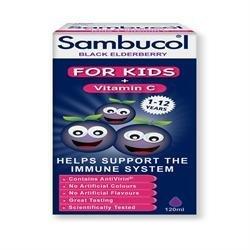 Sambucol Sambucol Kids 120ml x 1 by SAMBUCOL Black Elderberry Liqu