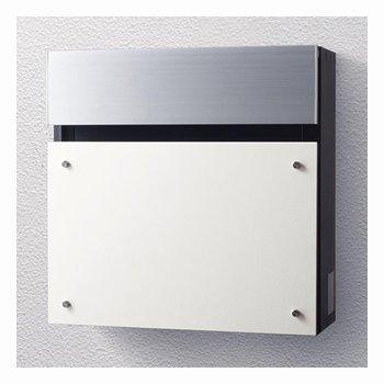 パナソニック製おしゃれ郵便ポスト フェイサスCTC2003WS 漆喰ホワイト メールボックス B00LZTVU72