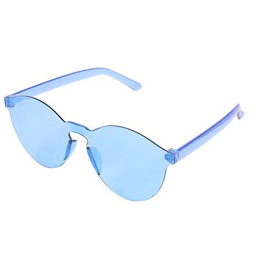 en Soleil Sans Plein Cadre Ymysfit Femmes Lunettes Hommes De Bleu Transparentes Air 1nxf8Tq