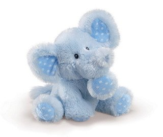 Russ Berrie Baby Collection Elliefumps - Elefante de peluche (20,3 cm),