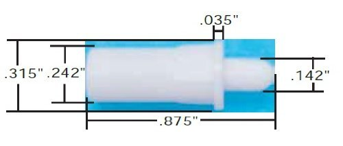 Spring Loaded Plantation Shutter Repair Pins (4) PackageQuantity: 4 Model: Home&Work Tools