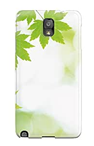 Excellent Design Fresh Tiny Leaves Case Cover For Galaxy Note 3