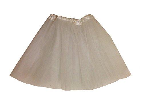[Rush Dance Men's Costume Ballet Warrior Dash Run Tutu (Adult, White)] (Plus Size Ballerina Costumes)