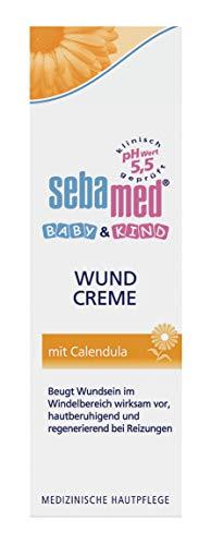 Sebamed Baby & Kind Wundcreme mit Calendula, 75 ml