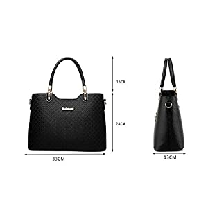 Lotus Women Handbags Shoulder Bags Top Handle Handbags PU Leather Fashion Tote Bags Fashion – 78811