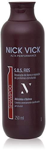 Shampoo Sos, Nick & Vick, Preta, 250ml