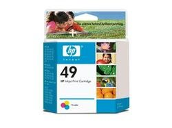 HEWLETT PACKARD HP 49 Tri-color Ink Cartridge yield 313