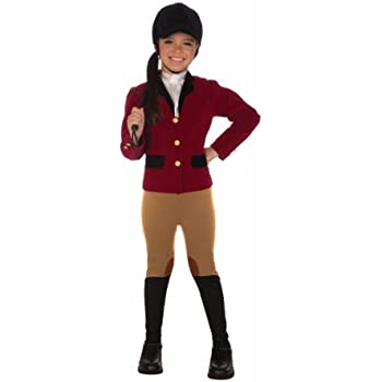 Forum Novelties Equestrian Rider Child Costume Toddler  sc 1 st  Amazon.com & Amazon.com: Jr. Jockey Kids Costume - Child Medium: Toys u0026 Games