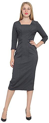 Sleeve Pintuck Dress - 1