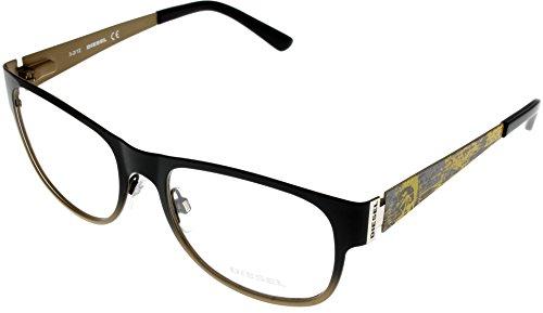 Diesel Womens Prescription Eyeglasses Frame Black/Bronze DL5026 005