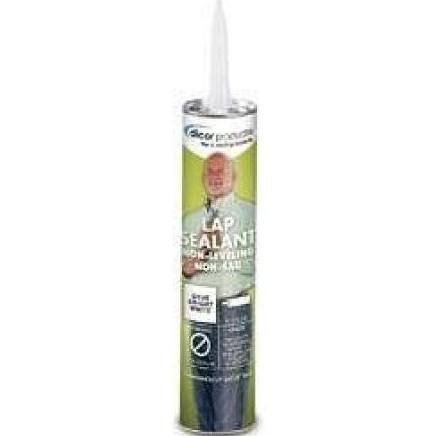 Dicor 551LSW1 White Non-Sag Roof Lap Sealant - 10.3 oz. Tube