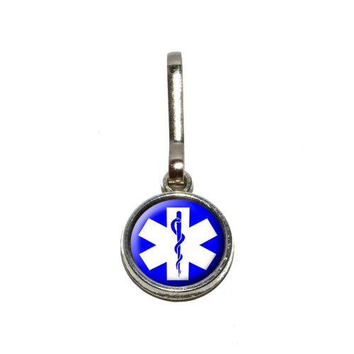ar of Life - Medical Health EMT RN MD Antiqued Charm Clothes Purse Luggage Backpack Zipper Pull ()