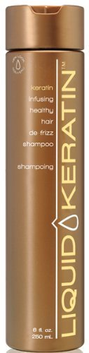 Liquid Keratin Keratin Infusing Healthy Hair De-Frizz Shampoo 8 oz by Liquid Keratin