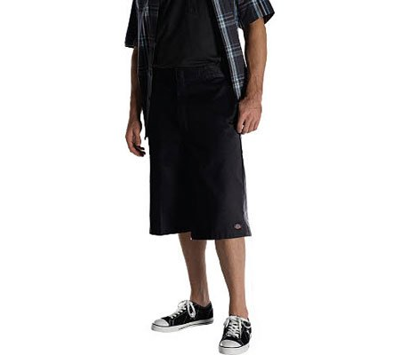 Dickies Loose Fit Multi Pocket Work Short Black 48