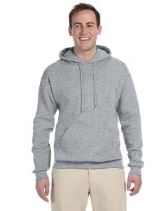 Jerzees 8 oz. NuBlend 50/50 Pullover Hood, Oxford - Small
