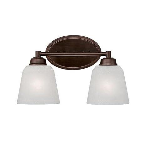 Amazon.com: Millennium iluminación 3222 Franklin 2 luz baño ...