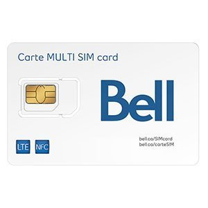 Bell Canada Multi SIM Card (Bell Mobility Canada compare prices)