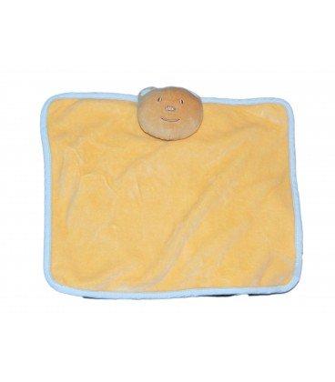 Doudou plana oso naranja salmón Apricot azul - Tex Carrefour ...
