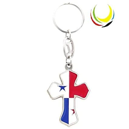 Amazon.com : Keychain PANAMA CROSS : Sports Fan Keychains ...