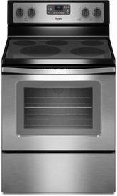 "Whirlpool WFE530C0ES 30"" Stainless Steel Electric Smootht..."