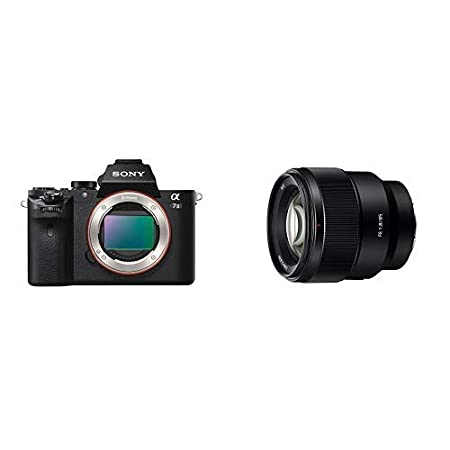 Sony Alpha a7II Interchangeable Digital Lens Camera SEL50F18F//2 Body Only with Fe 50mm F1.8 Lens