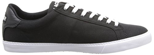 Lacoste Mens Grad Vulc Fb Fashion Sneaker Zwart / Wit