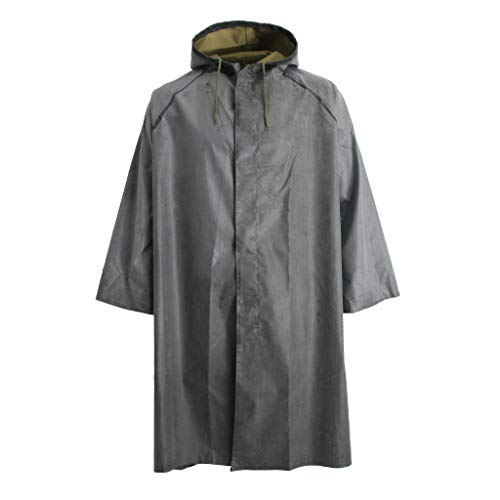 Baosity Rubber Raincoat Labor Protection Raincoat Thicken Canvas Poncho Cloth by Baosity (Image #3)