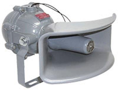 Class I, Div. I Explosion Proof Horn - 120VAC or 24VDC - Industrial Siren(-120VAC) -