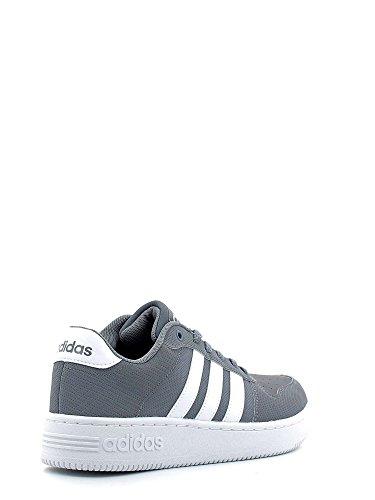 Adidas Team Court, Scarpe da Ginnastica Uomo, Grigio (Gris/Ftwbla/Ftwbla), 44 EU