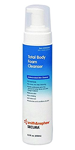 4.5 Ounce Moisturizing Gel (Smith & Nephew Secura Total Body Foam Cleanser Dispenser 4.5oz)