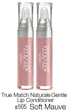 L Oreal Bare Naturale Gentle Lip Conditioner 505 Soft Mauve Qty, of 2 Sealed Tubes