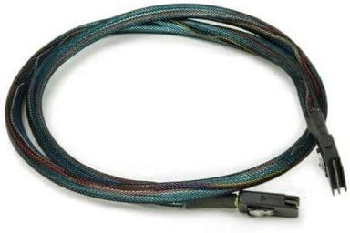 SFF8087 3Ware CBL-SAS8087OCF-06M Multi-lane Int. SAS//SATA breakout cable 0.6M