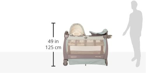 Graco Pack n Play con Cuddle Cove mecedora asiento, Winslet ...